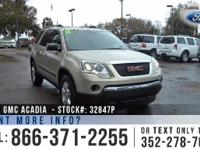 2011 Gmc Acadia SL. *** Still under Warranty ***.