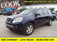 * ONE OWNER!! * - LOW MILES!! - REAR DVD SYS - TITANIUM