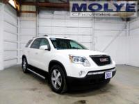 GMC Acadia 2011 AWD, Cashmere w/Leather-Appointed Seat