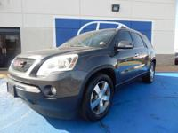 We are excited to offer this 2011 GMC Acadia. How to