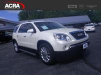 2011 Acadia, 98,189 miles, options include:  Fog