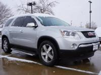 This 2011 GMC Acadia SLT-2 at Century Chevrolet is one