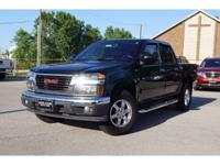 Black 2011 GMC Canyon SLT 4WD 4-Speed Automatic with