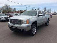 Silver 2011 GMC Sierra 1500 SLE 4WD 6-Speed Automatic