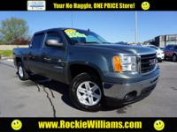 New Price! Clean CARFAX. Gray Green Metallic 2011 GMC