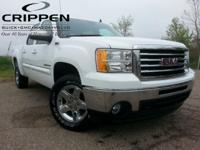 Sierra 1500 SLE GM Certified and 4WD. Crew Cab! Short