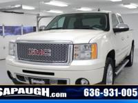 White Diamond Tricoat 2011 GMC Sierra 1500 Denali AWD