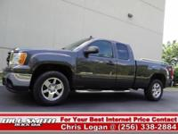 This is one Sharp GMC Sierra 4x4!! It was Bought New