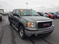 Stealth Gray 2011 GMC Sierra 1500 4WD 4-Speed Automatic