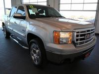 Options:  2011 Gmc Sierra 1500 Sle|Silver|**Clean