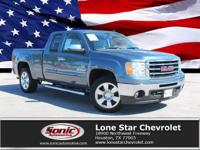 2011 GMC Sierra 1500 SLE, 1-Owner, Clean Carfax.