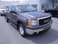Charcoal 2011 GMC Sierra 1500 SLE 4WD 6-Speed Automatic