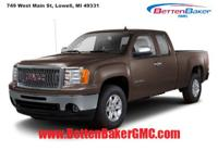 Options:  2011 Gmc Sierra 1500 4Wd Ext Cab 143.5