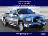 You'll love the look and feel of this 2011 GMC Sierra
