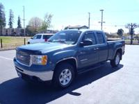 CARFAX One-Owner. 2011 GMC Sierra 1500 SLE Gray One