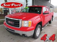 From city streets to back roads, this Red 2011 GMC