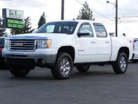 From home to the job site. this White 2011 GMC Sierra