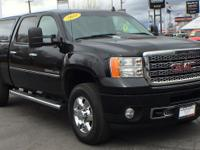CARFAX One-Owner. Certified. Onyx Black 2011 GMC Sierra