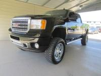 LIFTED AND LOADED! This 2011 GMC Sierra 2500HD Crew Cab