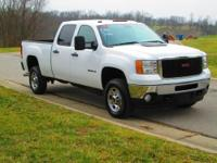 ONE OWNER, NON-SMOKER, 2011 GMC SIERRA 2500HD CREW CAB