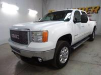 Look at this 2011 GMC Sierra 2500HD SLT. Its Automatic