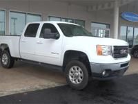 Summit White 2011 GMC Sierra 2500HD SLT 4WD Allison