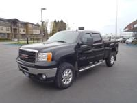 2011 GMC Sierra 2500HD SLT Black Fresh Oil Change, No
