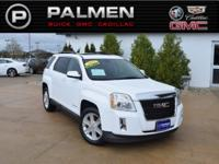 Olympic White 2011 GMC Terrain SLE-2 AWD 6-Speed