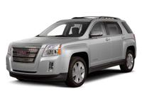 2011 GMC Terrain Olympic White  AWD. 29/20 Highway/City