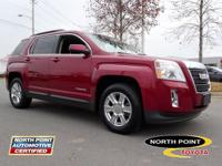 This 2011 GMC Terrain SLE-2 is a 100 % Carfax Guarantee