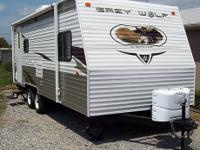 2011 Greywolf 19RR Toy Hauler. Made by Forest River.