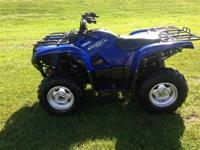 2011 Yamaha Grizzly 700 4x4 - power steering, fuel