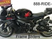 2011 GSXR750 Suzuki crotch rocket for sale only $8,999