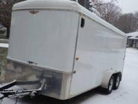 2011 'H And H' Trailer Enclosed Trailer. 2011 'H And H'