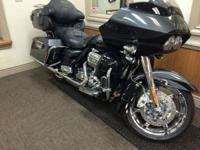 There are three custom-made CVO Road Glide Ultra paint