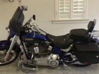 The Harley-Davidson CVO Softail Convertible is a