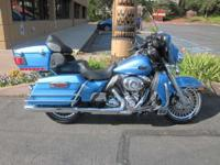 BABY BABY BLUE!! The 2011 Harley-Davidson Touring Ultra