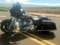 2011 Harley Davidson FLHX Street Glide. Good bike in