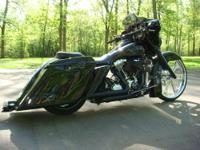2011 Harley Davidson FLHX Street Glide. Motivated by