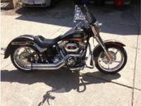 2011 Harley-Davidson FLSTSE CVO. CVO Softail