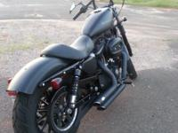 I have a all black 2011 Harley Davidson 883 Iron for