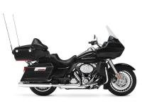 The motorcycle seat on the Road Glide Ultra FLTRU gives