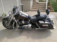 I am selling my 2011 Road King. It is in excellent