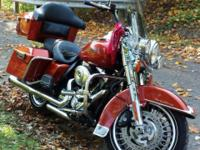 Sweet 2011 Road King in Sedona Orange, has 9K on the