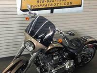 2011 Harley-Davidson FLSTSE2 CVO Softail Convertible.