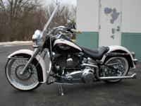 The Heritage Softail is American iron at its finest;