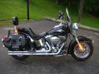 I'm selling my Black softail H-D it has 9,737mi on it.