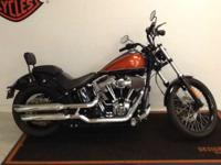 2011 Harley-Davidson Softail Blackline CUSTOM PIPES