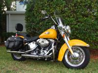 2011 Heritage Softail Classic--FLSTC--Fuel Injected w/