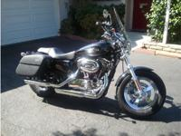2011 Harley Davidson Sportster, Engine: 1200cc, 1253